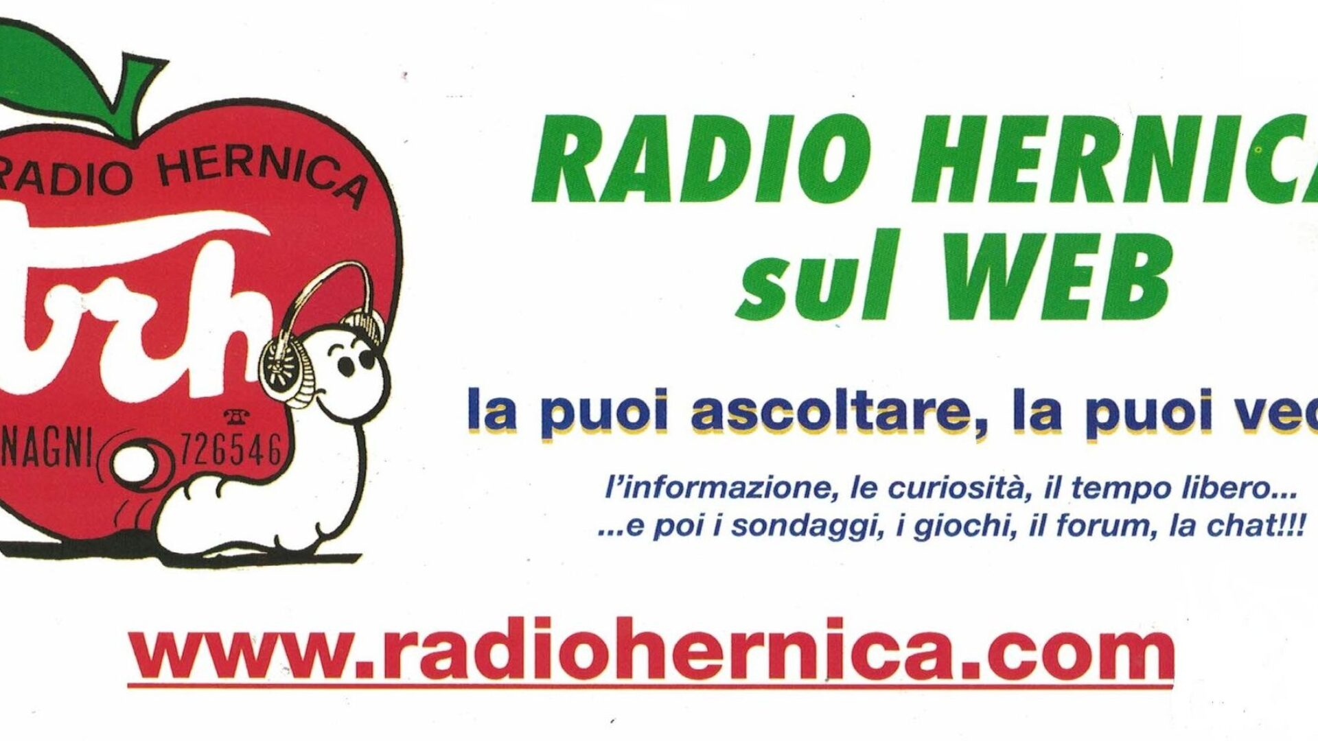 BENVENUTI, AMICI DI RADIO HERNICA