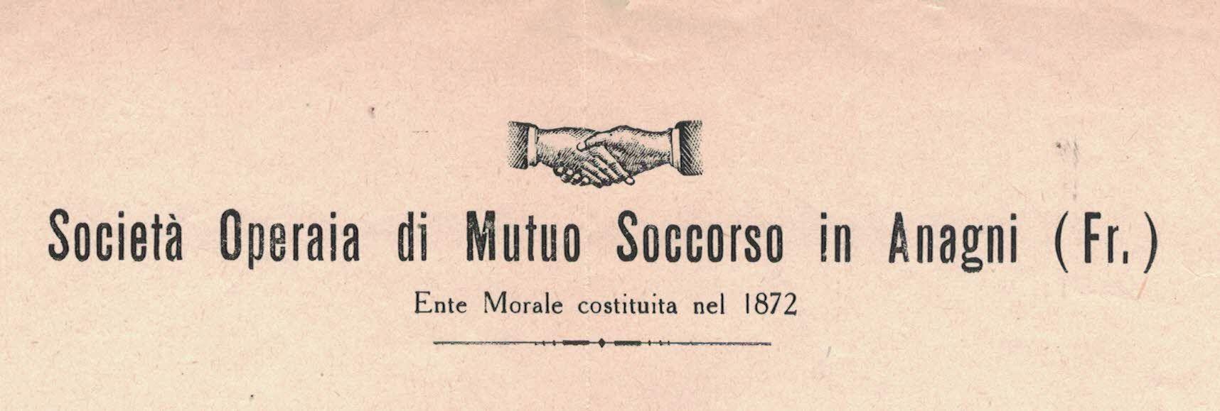 DOCUMENTI, LO STATUTO DELLA SOCIETA' OPERAIA