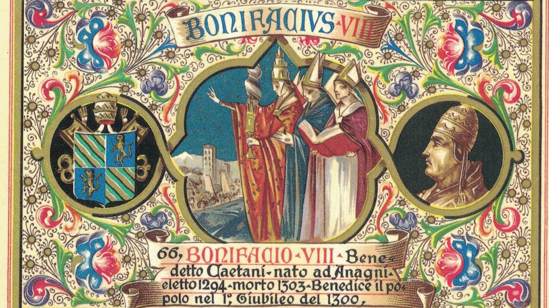 GIUBILEO 2000, L'ANNULLO FILATELIC0 ANAGNINO DEDICATO A BONIFACIO VIII