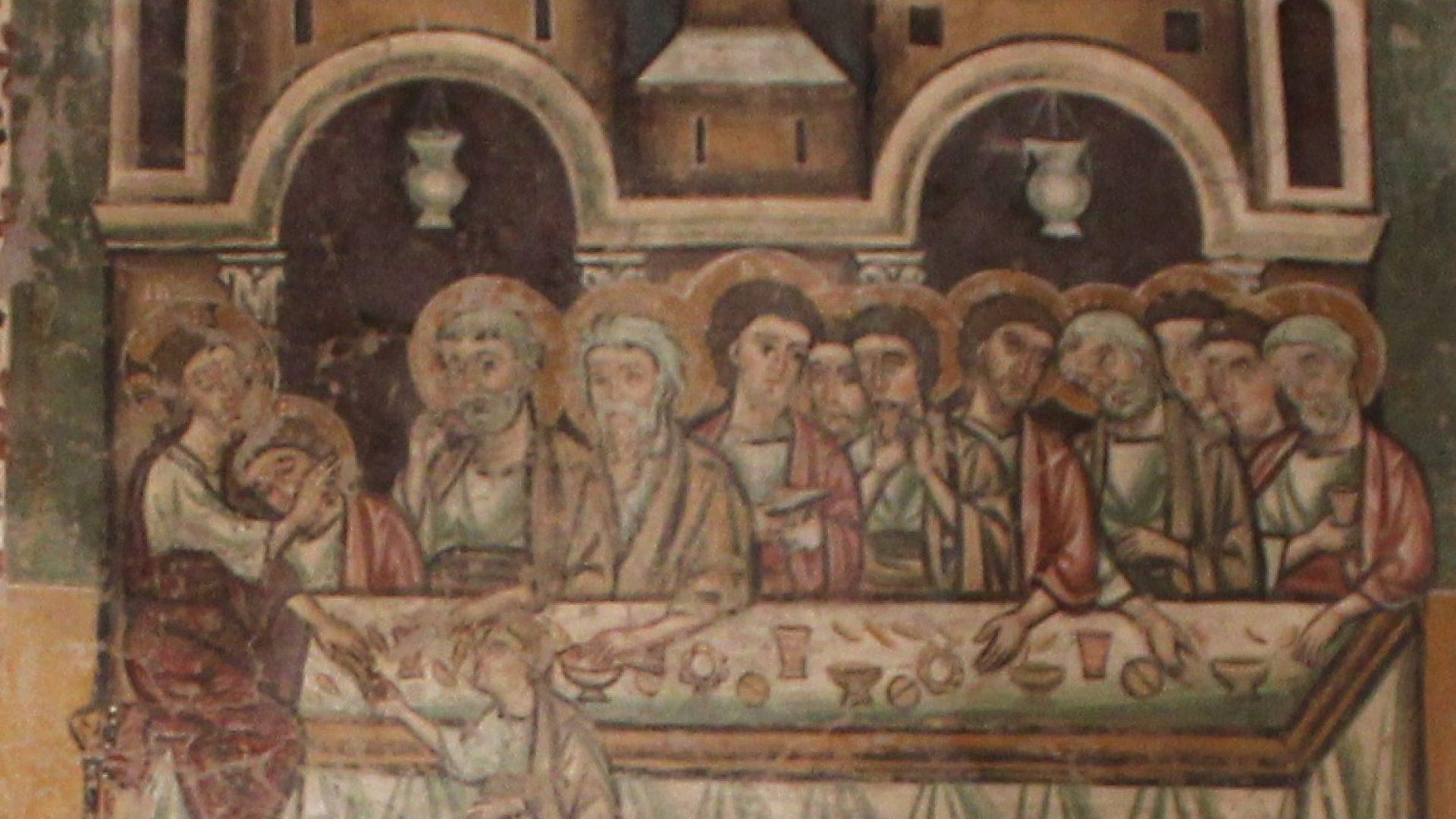 ALESSANDRO IV, IL MAESTRO IGNOTO E L'ULTIMA CENA. I TESORI DI SAN PIETRO IN VINEIS